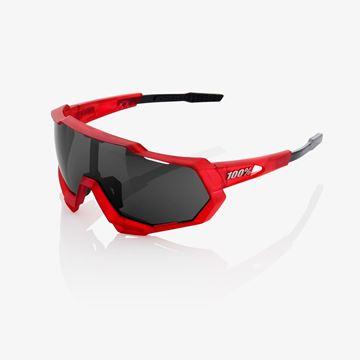 Immagine di Occhiali 100% Speedtrap Matte Red/Matte Black-Black  Mirror