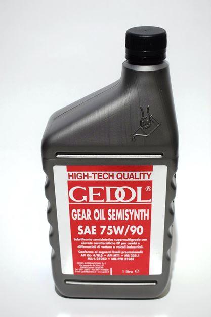 Immagine di OLIO CAMBIO GEDOL GEAR OIL SEMI SYNTH 75W90 LT.1