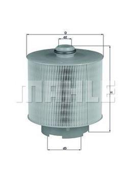 Filtro aria LX1006/1d