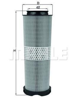 Filtro aria Mahle original LX1020/1