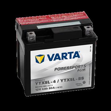 Immagine di Batteria Moto Varta POWERSPORTS AGM 504012003  YTX5L-BS