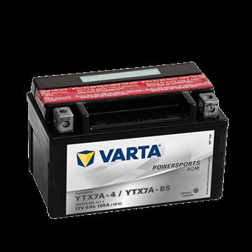 Immagine di Batteria Moto Varta POWERSPORTS AGM 506015005  YTX7A-BS