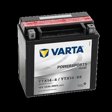 Immagine di Batteria Moto Varta POWERSPORTS AGM 512014010  YTX14-BS