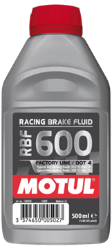 OLIO FRENI MOTUL RACING BRAKE FLUID 600 FL 500ml