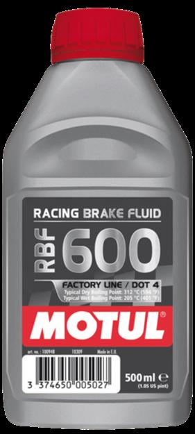 OLIO FRENI MOTUL RACING BRAKE FLUID 600 FL 500ml