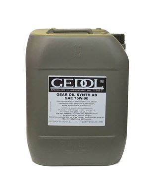 Immagine di OLIO CAMBIO GEDOL GEAR OIL SYNTH AB 75W90 LT.20