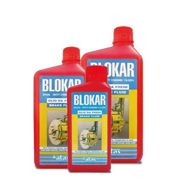 Immagine di Liquido per freni DOT 4 Blokar lt.1