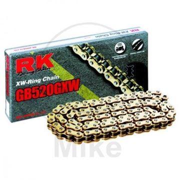 Immagine di RK XW-RING ORO-ORO 520GXW/120 CATENA APERTA CON RIVETTO A BATTUTA