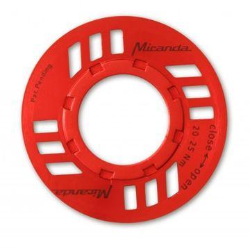 Immagine di Miranda E-Chainguard Nut per motore eBike Bosch rosso