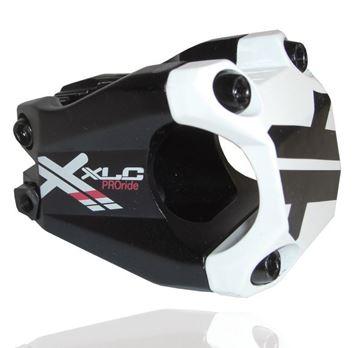 "Immagine di XLC Attacco manubrio Pro Ride A-Head ST-F02 1 1/8"" Ø 31,8 mm 40 mm nero/bianco"