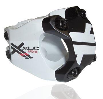 "Immagine di XLC Attacco manubrio Pro Ride A-Head ST-F02 1 1/8"" Ø 31,8 mm 40 mm  bianco/nero"