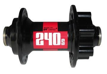 Immagine di DT Swiss Mozzo anteriore 240S MTB Disco 100mm/15mm PP 32 fori