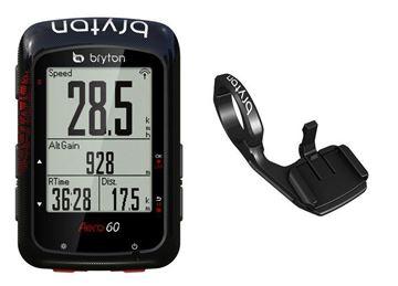 Immagine di Ciclomputer GPS Bryton Aero60E + Staffa Aero Mount
