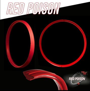 TECHNOMOUSSE RED POISON - MOUSSE PER MTB, ENDURO, DOWNHILL