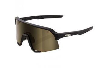 Immagine di 100% occhiali S3 soft tact nero lenti soft gold