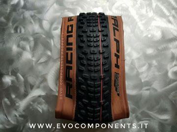 Immagine di Copertone SCHWALBE RACING RALPH 2021 29x2.35 TL-E Evo Line SuperRace Addix Speed nero transparent skin