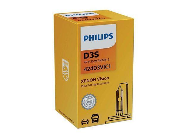 Immagine di LAMPADA XENON PHILIPS D3S ORIGINAL 42403VIC1 xenon vision PK32d-5