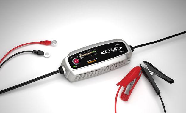 Immagine di Caricabatterie CTEK MXS 5.0 Auto/Moto 12V 5A