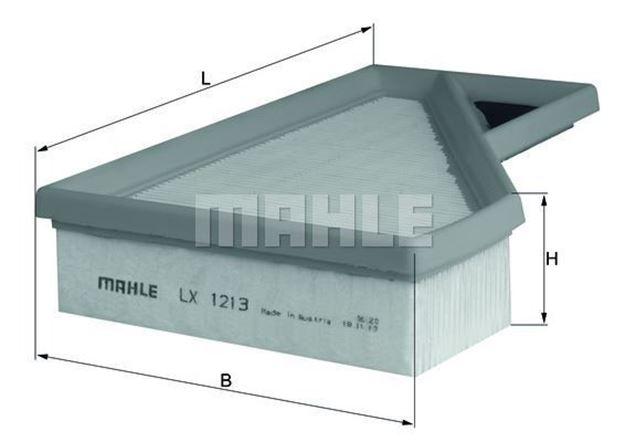 Filtro aria Mahle LX1213