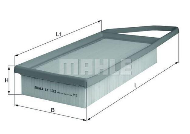 Filtro aria Mahle LX1282