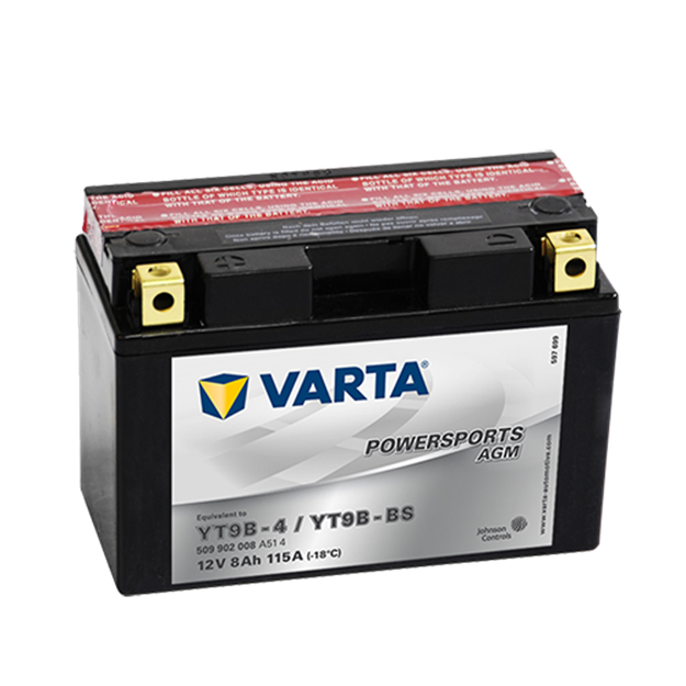 Immagine di Batteria Moto Varta POWERSPORTS AGM 509902008 YT9B-BS