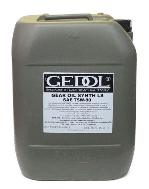 olio cambio 75w80 lt.20