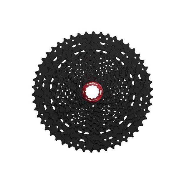 Immagine di SunRace MX80 Black Cassetta Pignoni 11v 11-50T (42-50 ALU)