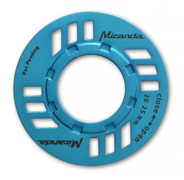 Immagine di Miranda E-Chainguard Nut per motore eBike Bosch blu