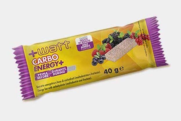 Immagine di +WATT Carbo Energy+ barretta singola frutti di bosco