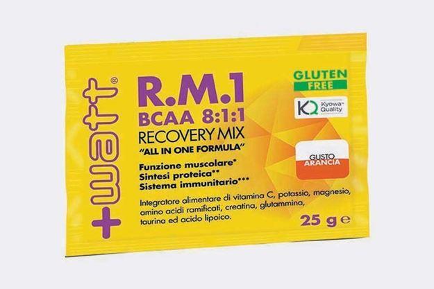 Immagine di +WATT R.M.1 BCAA 8:1:1 Recovery Mix bustina monodose