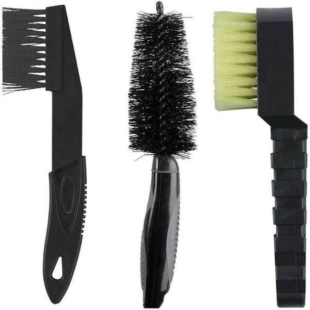 Immagine di Set di spazzole Barbieri per la pulizia bici