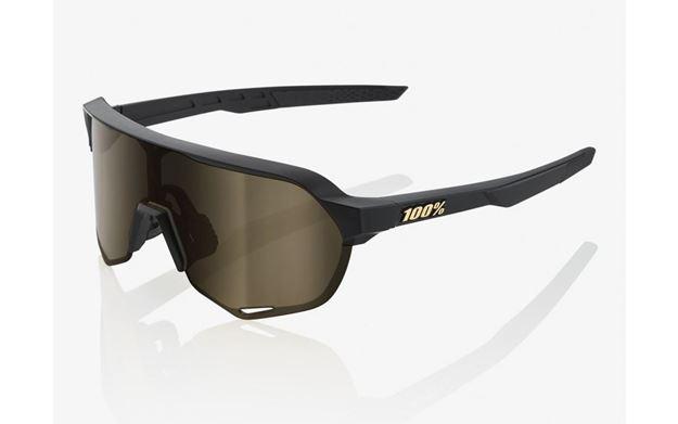 Immagine di 100% occhiali S2 Matte Black Flash Gold