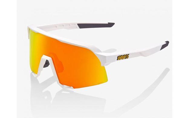Immagine di 100% occhiali S3 White lenti HiPER Red Multilayer