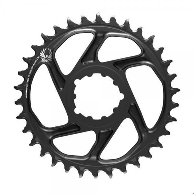 Immagine di Corona SRAM EAGLEX-Sync 2 SuperLight 12v DM 36T Offset 3mm nero
