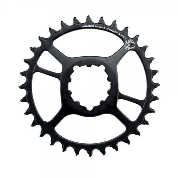 Immagine di Corona Sram X-Sync 2 NX Eagle Steel 32T DM Offset 3mm 12v