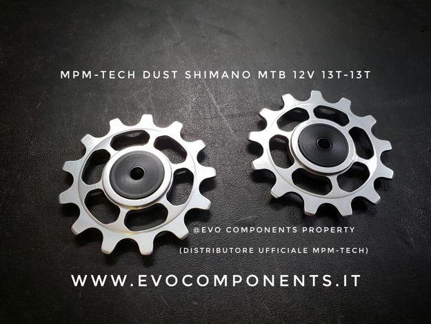 Immagine di MPM-TECH  Dust pulegge cambio 13T - Shimano - 12v