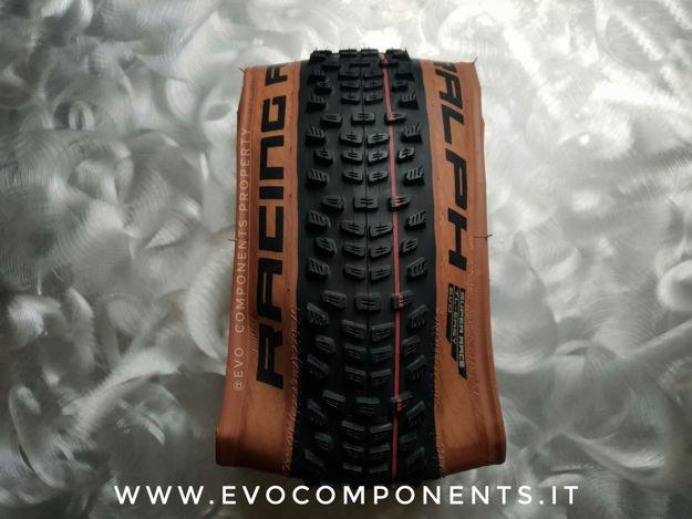Immagine di Copertone SCHWALBE RACING RALPH 2021 29x2.35 TL-E Evo Line SuperRace Addix Speed nero transparent skin