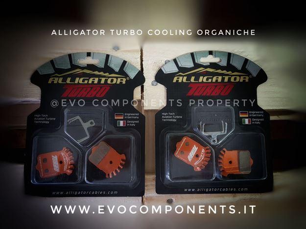 Immagine di ALLIGATOR Pastiglie Turbo Cooling organiche  Avid Elixir / SRAM XX/X0