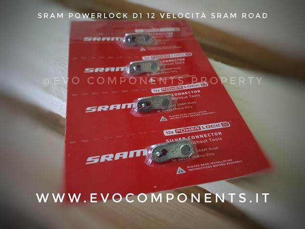 Immagine di Sram Powerlock D1 12 velocità per catene sram road