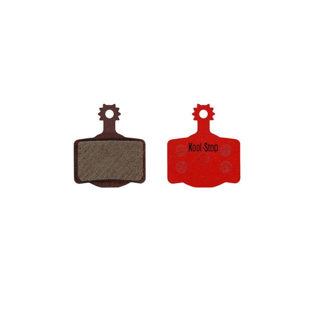 Immagine di Pastiglie freno Kool Stop Red 160 Magura (MT2,MT4,MT6,MT8) organiche