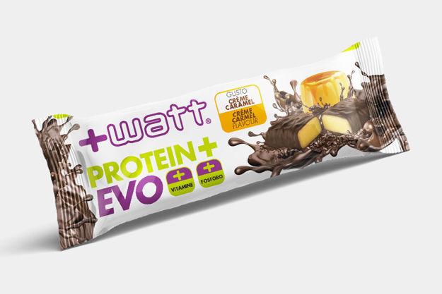 Immagine di +WATT Protein+ EVO creme caramel barretta monodose
