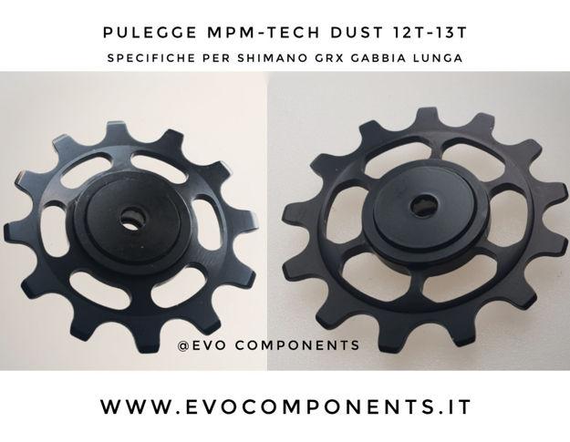 Immagine di MPM-TECH  Dust pulegge cambio 12-13t  Shimano Grx gabbia lunga