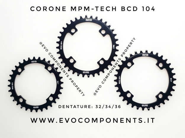 Immagine di MPM-TECH Corona Rotonda Honey BCD 104