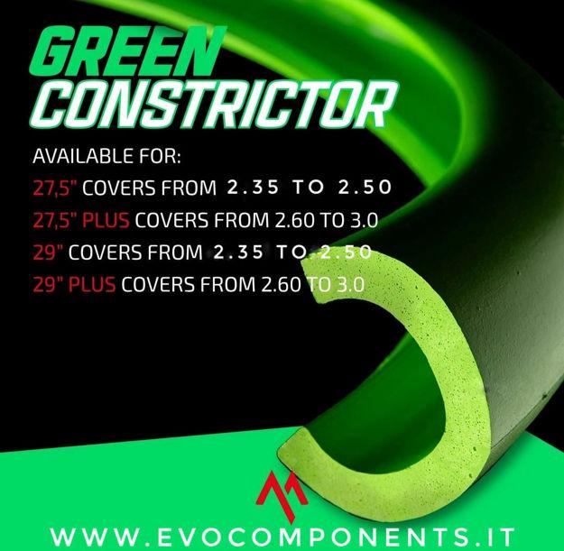 Immagine di TECHNOMOUSSE GREEN CONSTRICTOR - MOUSSE PER MTB, ENDURO, XC, DH, E-BIKE