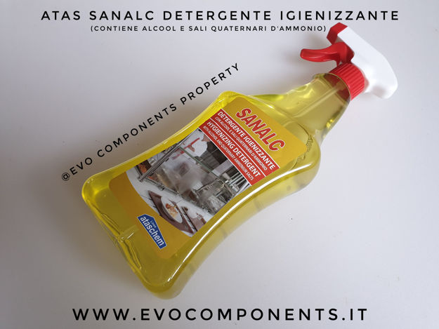 Immagine di SANALC LIQUIDO ALCOLICO IGIENIZZANTE 750ML